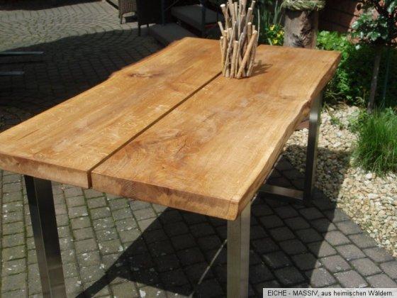 massivholz tisch massivholz gatterdam. Black Bedroom Furniture Sets. Home Design Ideas
