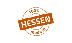 Logo 100% made in Hessen